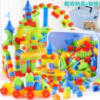大颗粒积木拼装玩具益智2岁宝宝三四儿童智力3多功能动脑启蒙女孩