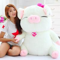 可爱猪公仔毛绒玩具大猪猪睡觉抱枕女孩超萌娃娃玩偶女生礼物