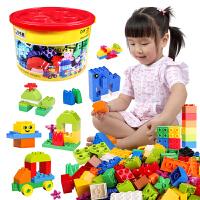 儿童玩具积木3-6周岁男孩子7-8-10女孩拼装智力大颗粒组装墙
