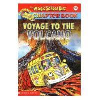 英文原版The Magic School Bus Voyage to the Volcano神奇校车章节阅读15:火山之