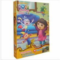 原装正版 爱探险的朵拉 DORA的小丑箱 中英双语卡通动画片 4DVD 赠精美拼图