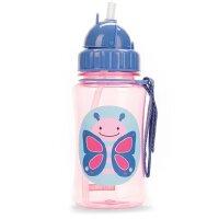 Skip Hop宝宝吸管杯儿童水杯350ml婴儿吸管杯学饮杯儿童防漏水杯