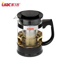 不锈钢过滤普洱茶壶泡花茶壶耐热玻璃茶壶茶具