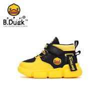 【2件25折:104.75元】B.Duck小黄鸭童鞋男童棉鞋2021冬季新款防滑减震运动鞋二棉保暖潮鞋B5182031