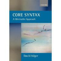 【预订】Core Syntax: A Minimalist Approach