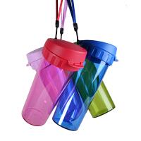 特百惠水杯茶韵随手杯子便携防漏塑料大容量男女学生儿童运动茶杯
