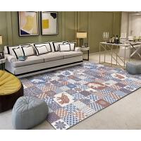 几何地毯客厅欧式现代沙发茶几垫卧室床边家用