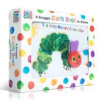 英文原版 低幼版 布书 The Very Hungry Caterpillar Cloth Book 艾瑞卡尔Eric