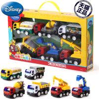 儿童玩具工程车礼盒惯性汽车吊车油罐车挖掘机卡车搅拌车儿童节礼物