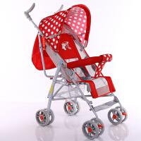 婴儿推车可坐可躺轻便宝宝童车男孩女孩伞车四轮婴儿手推折叠车夏季宝宝推车