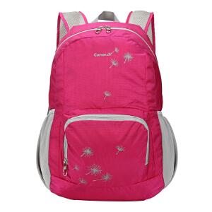 卡拉羊折叠双肩包旅游背包男女时尚背包休闲旅行双肩包便携背包潮CX5621