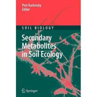 【预订】Secondary Metabolites in Soil Ecology