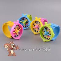 儿童玩具手表啪啪手表钟点学习器认识时间早教益智用品 单个装