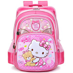 Hello Kitty凯蒂猫 小学生女生1-3年级书包 儿童双肩背包 SK93007