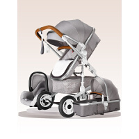 20190707142952641高景观婴儿推车双向可坐可躺轻便四轮避震折叠新生宝宝推车