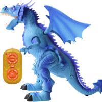 大号电动恐龙玩具 霸王龙行走遥控智能仿真动物套装