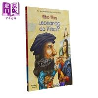 【中商原版】谁是列奥纳多・达・芬奇?Who Was Leonardo da Vinci? 儿童科普文学 桥梁书 7~12