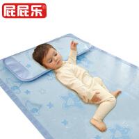 幼儿园床席子午睡儿童通用宝宝婴儿凉席 夏凉而不冰 夏季透气冰丝