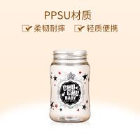 宽口径奶瓶ppsu 耐摔日本婴儿fang胀气奶瓶 可爱妈妈