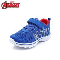 迪士尼Disney童鞋18新款儿童运动鞋漫威女男童工程网面鞋舒适户外休闲鞋 (9-15岁可选)VA4014