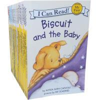 【全店600减200】英文原版绘本 I Can Read My First 初级阶段 47本 Little Critte