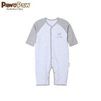 【2件2.5折 到手价:75】Pawinpaw卡通小熊童装男女宝宝撞色连身衣婴幼儿连体服