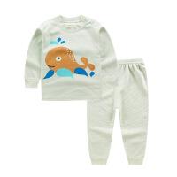 儿童棉内衣套装男童女童婴儿衣服宝宝秋衣秋裤彩棉两件套装卡通
