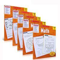 【全店300减110】英文原版 学乐能赢 Scholastic Success with Math,Grade 1-5