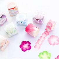 小清新樱花和纸胶带花瓣手帐贴纸素材和风日记拼贴胶带diy装饰