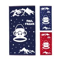 【儿童节大促-快抢券】PBW1773021大嘴猴(Paul Frank) 儿童毛巾 浴巾 组合3入装