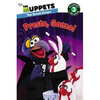【预订】The Muppets: Presto, Gonzo! 美国库房发货,通常付款后3-5周到货!