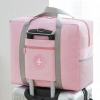 旅行包 男女简约彩色防水运动健身包手提行李包大容量便携拉杆包单肩包搬家袋旅行用品