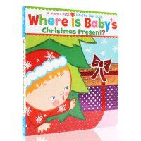 【全店300减100】Where Is Baby's Christmas Present? 宝宝的圣诞礼物在哪 纸板书