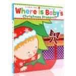 Where Is Baby's Christmas Present? 宝宝的圣诞礼物在哪 纸板书 英文原版 圣诞节庆绘
