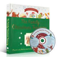 英文原版绘本书 Family Christmas Treasury 家庭圣诞8本故事精装合集(附CD)Merry Ch
