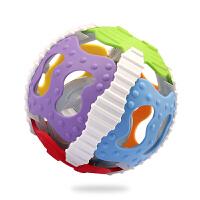 宝宝可啃咬球6-12个月球类玩具手抓球软胶球磨牙