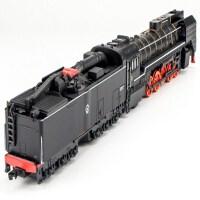 东风合金仿真火车头 内燃机车带声光合金火车模型 儿童回力玩具车童年回忆绿皮火车