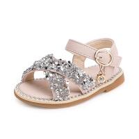 宝宝凉鞋亮片学步公主鞋新款儿童鞋子