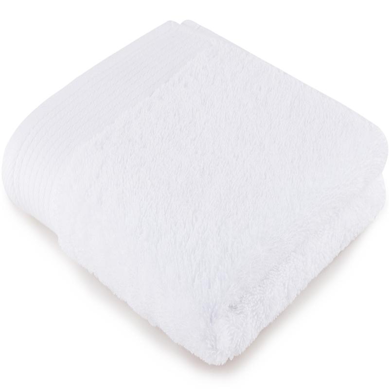 [当当自营]三利 缎边大面巾 雪白色  A类加厚长绒棉 纯棉洗脸毛巾 柔软舒适 带挂绳 婴儿可用