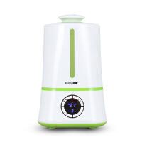 办公室内香薰定时增湿机家用卧室静音大容量智能空气加湿器 青葱绿