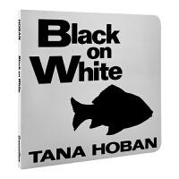英文原版进口童书绘本 吴敏兰书单0-2岁 Black on White