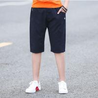 儿童短裤 男童轻薄宽松透气中裤夏季韩版新款时尚中大童休闲五分裤子