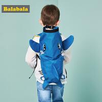 【99元任选3件】巴拉巴拉儿童男童减负书包夏装新款童包小学生护脊双肩包包男