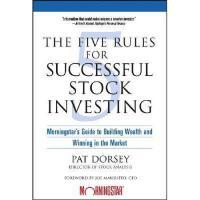 【预订】The Five Rules For Successful Stock Investing: