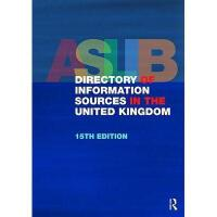 【预订】The Aslib Directory of Information Sources in the