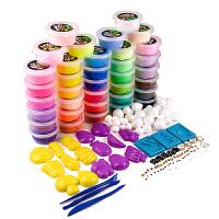 36色轻粘土彩泥橡皮泥3d手工创意DIY套装玩具