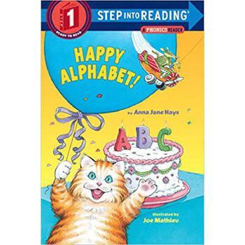英文原版 快乐的字母  Happy Alphabet!: A Phonics Reader