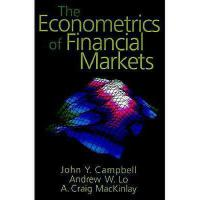 【预订】The Econometrics of Financial Markets