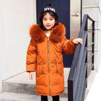儿童羽绒服女孩子冬季女童中长中大童新外套童装