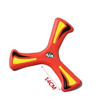 20180528091211353ZING高密度回力旋镖回力标 EVA飞去来器回旋镖儿童户外玩具 进阶款-红色-翼展14